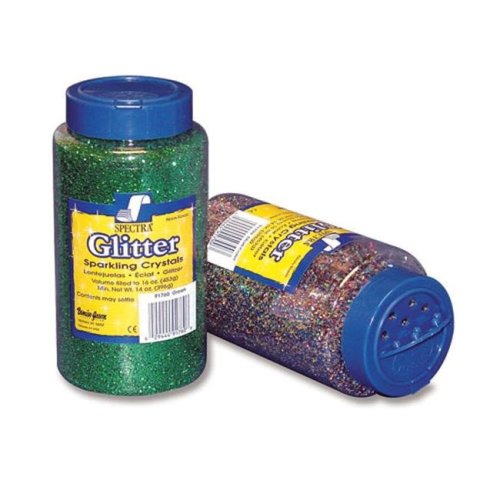 PACON CORPORATION PAC91760 GLITTER 1 LB GREEN
