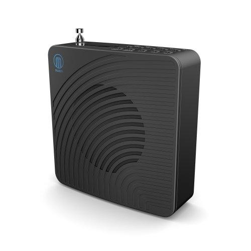 Chesterton DAB/DAB+ Digital FM Portable Radio / Alarm Clock / Rechargeable Battery / Mains Powered - Black