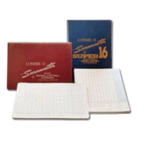 Petersons Baseball Super Scoremaster 16 Scorebook