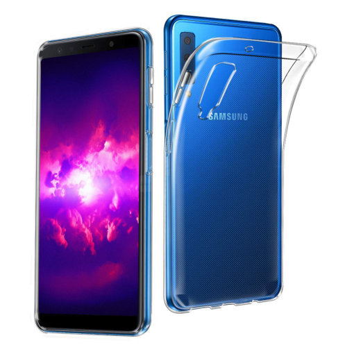 iPro Accessories Galaxy A7 2018 Case, Galaxy A7 2018 Cover, Galaxy A7 2018 Clear Case, Galaxy A7 2018 Gel Case, Crystal Clear Back Cover with TPU Bumper [Impact Resistant, Shock Absorption] Transparent Case