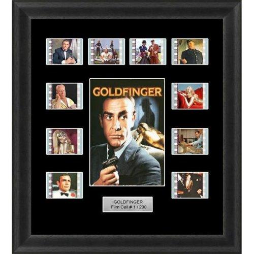 James Bond Goldfinger Film Cell Memorabilia
