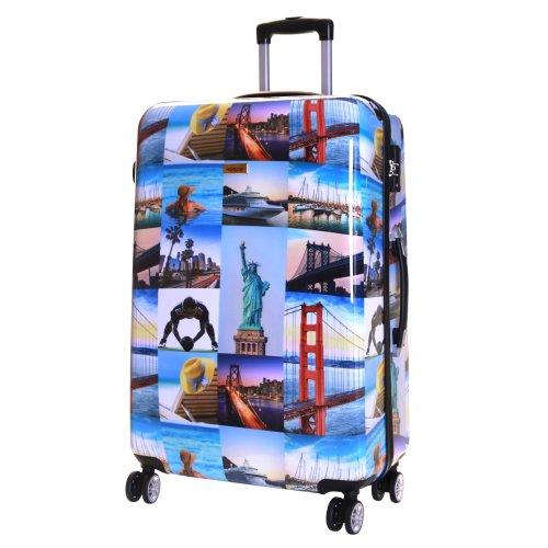d9ce2aca6 Karabar Falla Large 76 cm Hard Suitcase, America on OnBuy