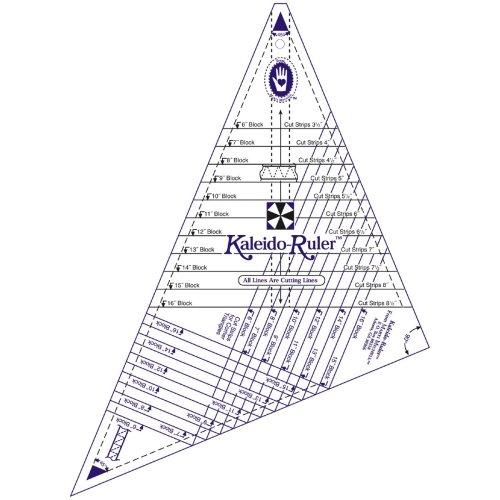 """Marti Michell Large Kaleido-Ruler-6"""" To 16"""" Blocks"""