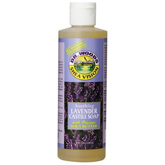 Dr. Woods Shea Vision, Lavender Castile Soap With Shea Butter, 8-Ounce (Pack Of 12)