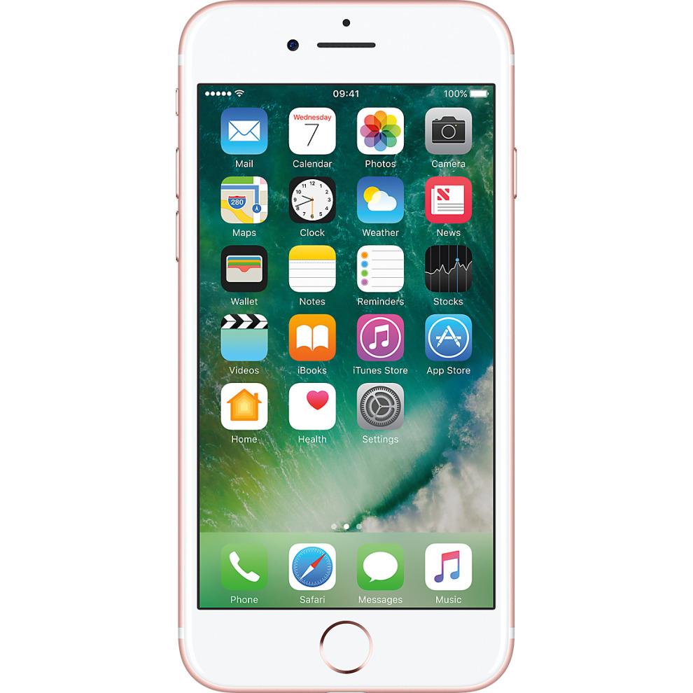 O2, 32GB Apple iPhone 7 - Rose Gold