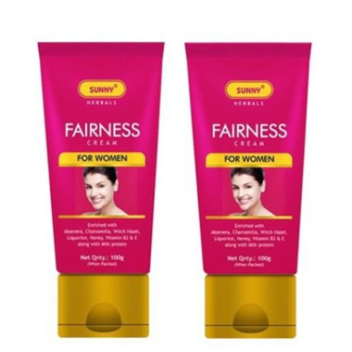 Bakson's Sunny Fairness Cream for Women- 100g - Pack of 2