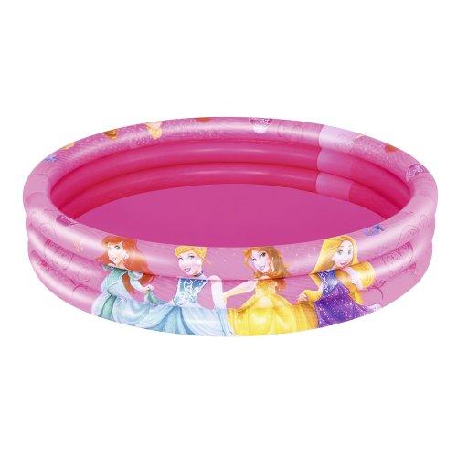 Disney Princess Bestway Three Ring Paddling Pool - Pink