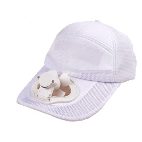 Summer Fan Hat with Fan Fishing Sun Visor Cap#P