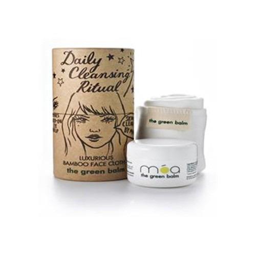 Moa Magic Organic Apothecary Daily Cleansing Ritual 50ml Pot Plus Bamboo Cloth