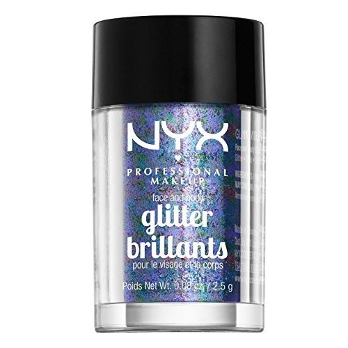 NYX Glitter for Face and Body copper