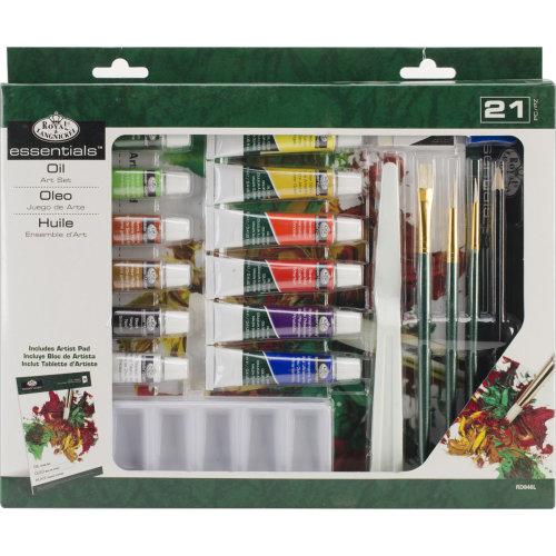 essentials(TM) Art Set-Oil Painting