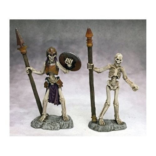 Reaper Miniatures Dark Heaven Legends 03757 Skeletal Spearmen (2)