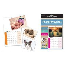 2018 DIY Print Insert Your Own Photo Wall Calendar A4 Christmas Birthday Gift