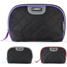 LaRoc Makeup Cosmetic Bag Travel Accessory Toiletry Wash Pouch Purse Holder