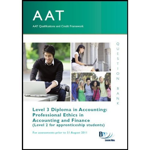 AAT - Professional Ethics in Accounting and Finance
