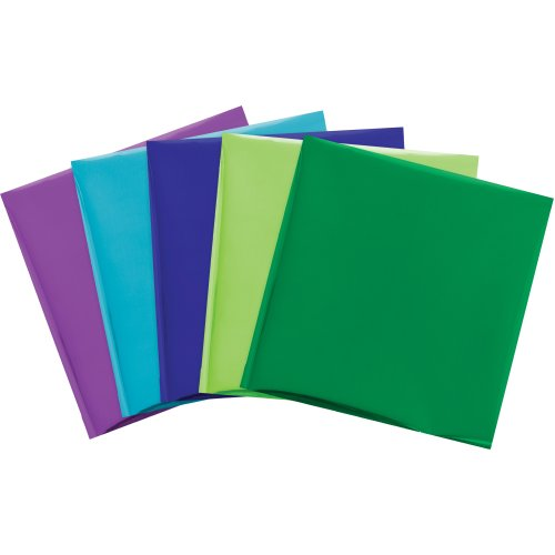 "We R Memory Keepers Foil Quill 12""X12"" Foil Sheets 15/Pkg-Peacock-3 Each Of 5 Colors"