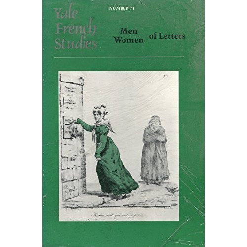 Men and Women of Letters (French Studies)